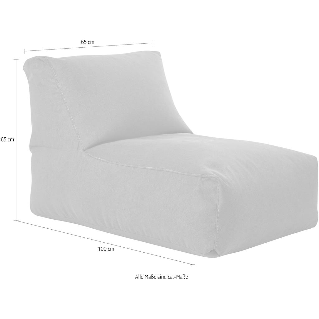 Sitting Point Sitzsack »Indiana Rock«, mit Ziernaht