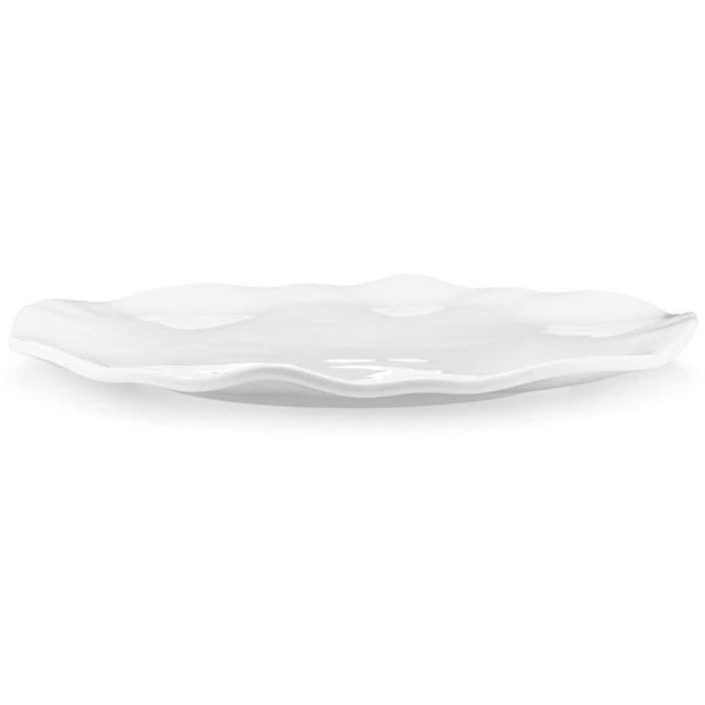Q Squared NYC Servierplatte »Ruffle Round«, 40 cm