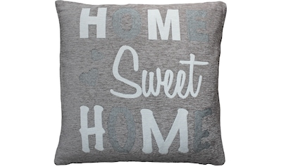 HOSSNER - HOMECOLLECTION Kissenhülle »Home Sweet Home«, (2) kaufen