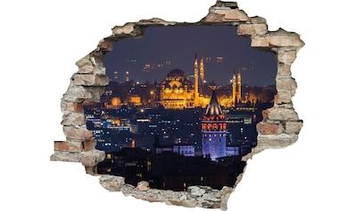 queence Wandtattoo »Stadt bei Nacht« kaufen