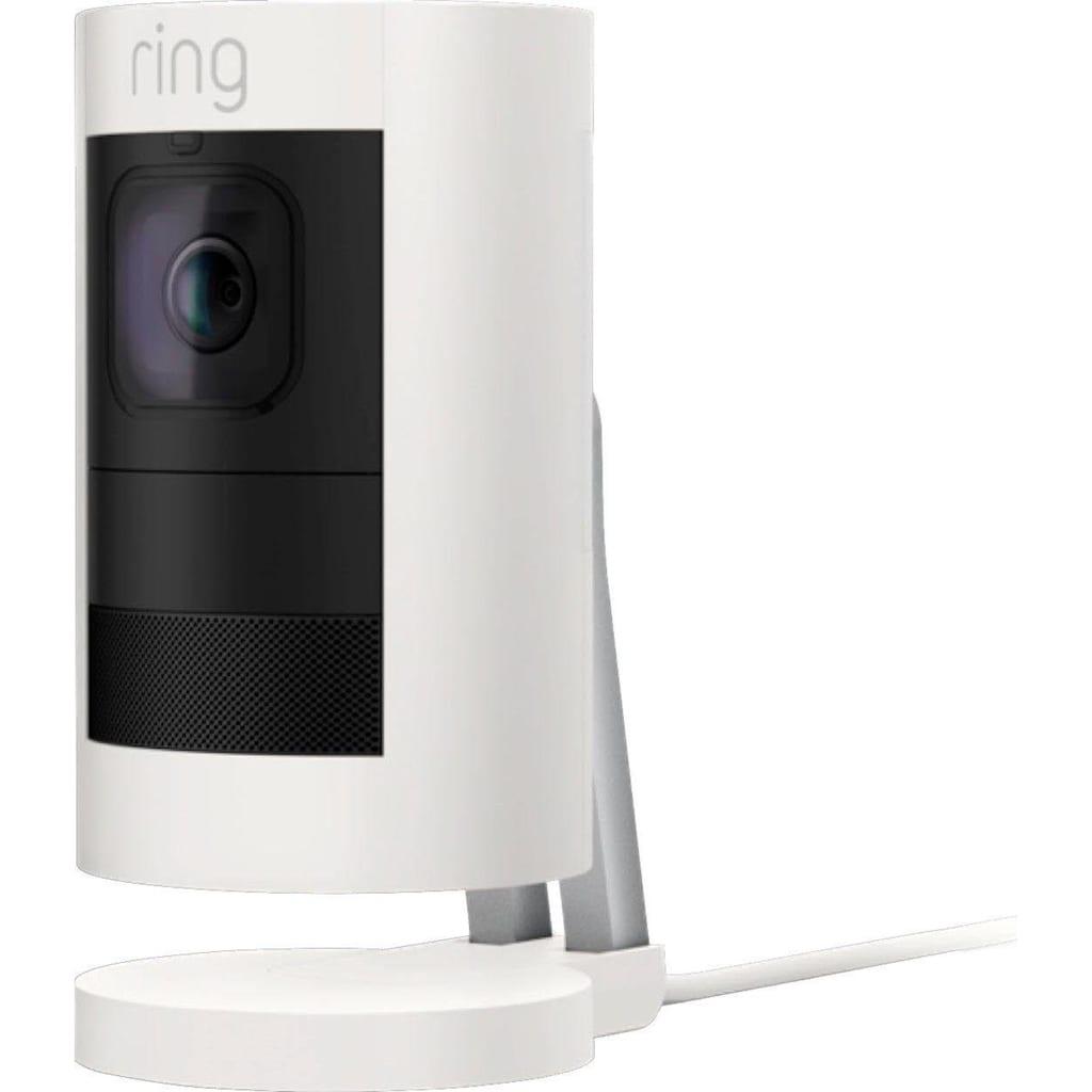 Ring Smart Home Kamera »Stick Up Cam Elite«, Außenbereich-Innenbereich