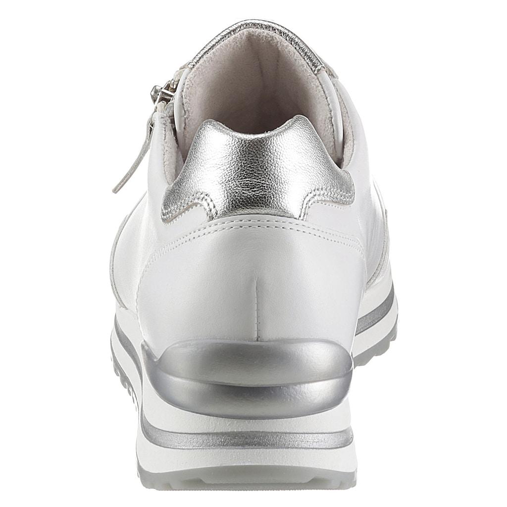 Gabor Keilsneaker »TURIN«, mit silberfarbenen Details