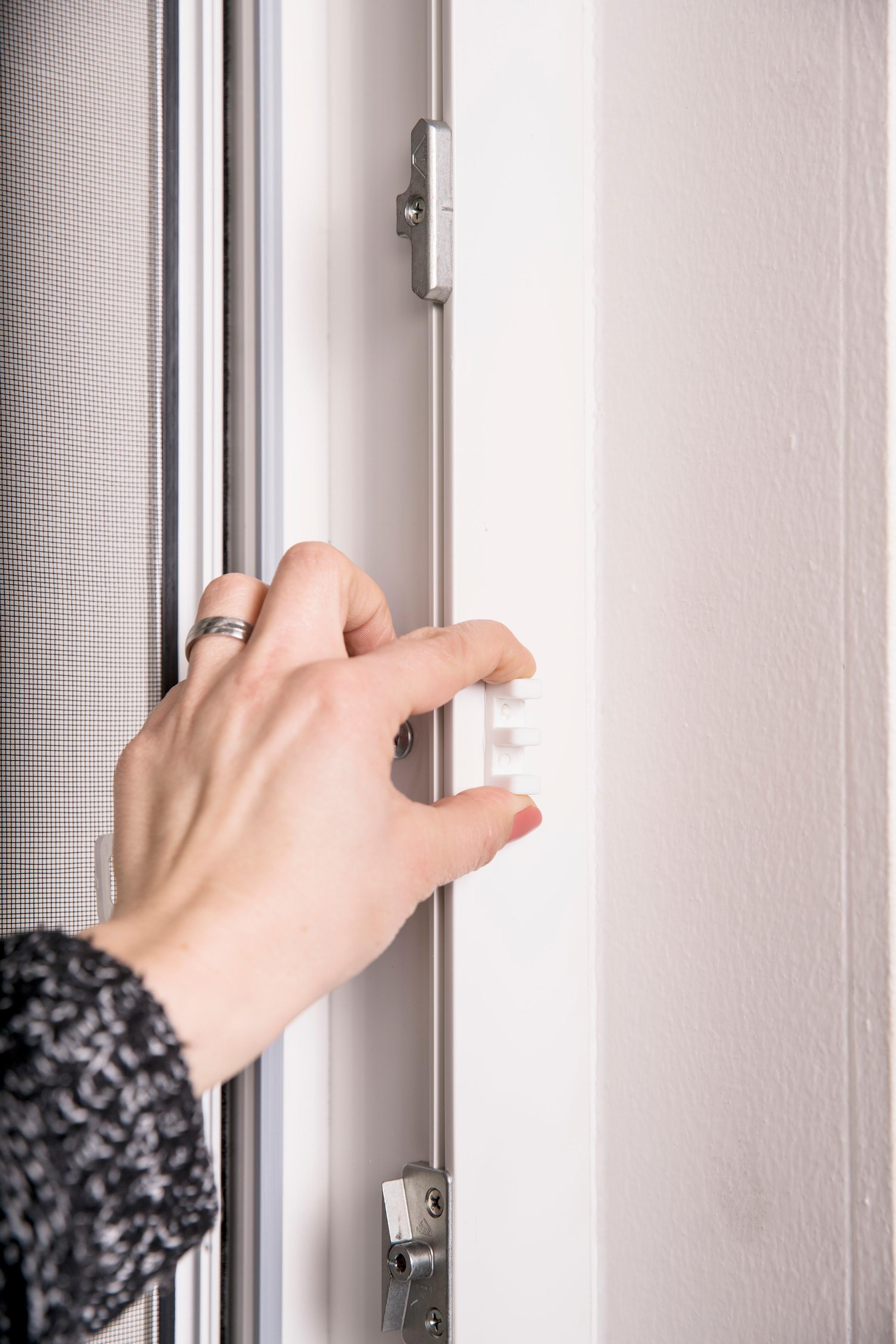 hecht international Insektenschutz-Tür weiß Insektenschutztür Insektenschutz Bauen Renovieren