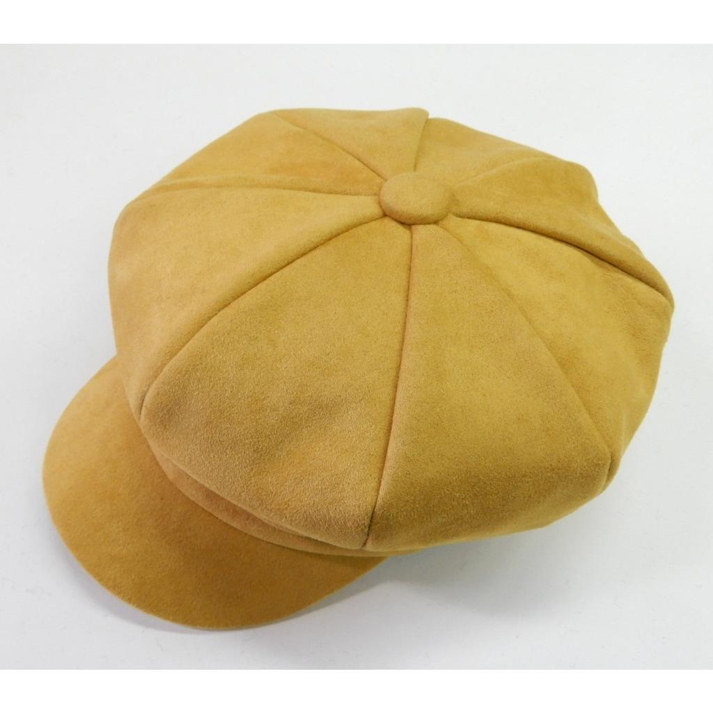 Chaplino Flat Cap, mit eingenähtem Stoffband