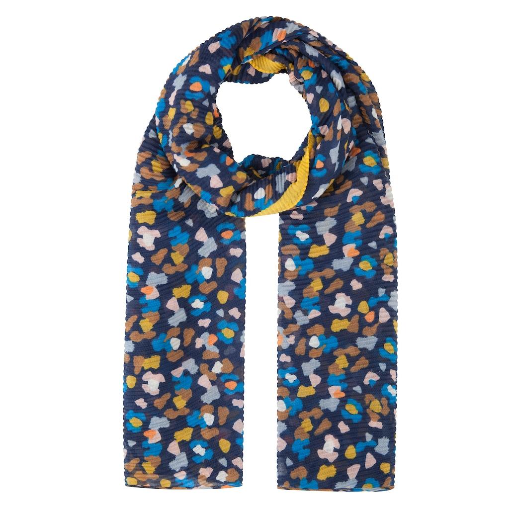 Codello Plissee-Schal aus recyceltem Polyester