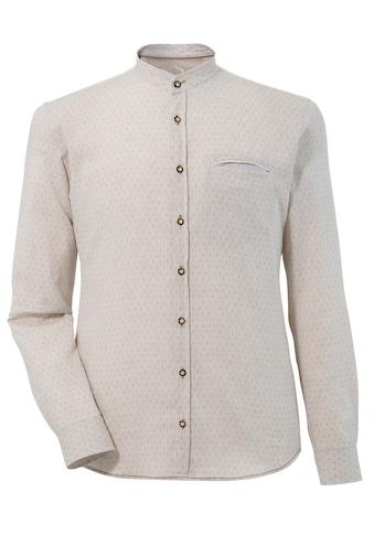 Murk Trachtenhemd mit Stehkragen kaufen