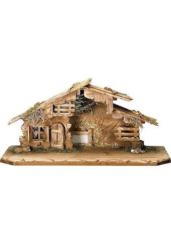 ULPE WOODART Krippe »Südtirol«, Handarbeit, hochwertige Holzschnitzkunst kaufen