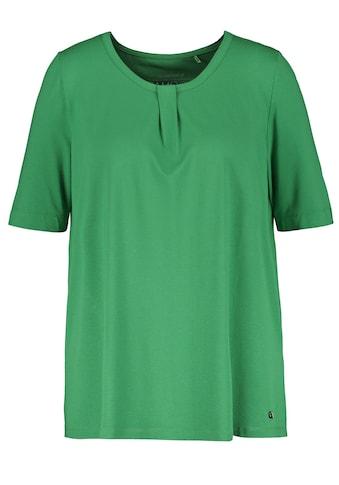 Samoon Rundhalsshirt »Legeres Halbarmshirt« kaufen