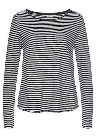 Marc O'Polo DENIM Langarmshirt, als tolles Langarm-Basic kaufen