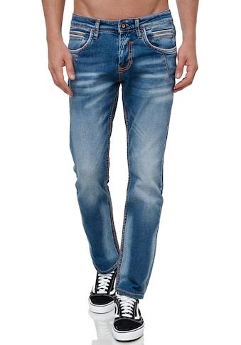 Rusty Neal Straight-Jeans »NEW YORK 51«, mit angesagten Ziernähten kaufen