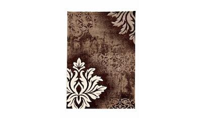merinos Teppich »DORDOGNE«, rechteckig, 13 mm Höhe, handgearbeiteter Konturenschnitt,... kaufen