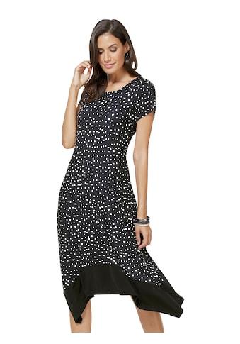 création L Jersey - Kleid im Pünktchen - Print kaufen