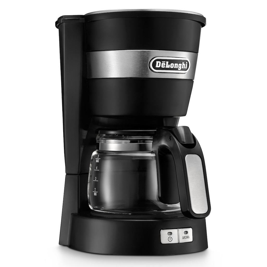 De'Longhi Filterkaffeemaschine »ACTIVE LINE ICM14011.BK«, Permanentfilter