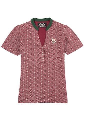 Hangowear Trachtenshirt »Agany«, Damen, besonders elastisch mit V-Ausschnitt kaufen