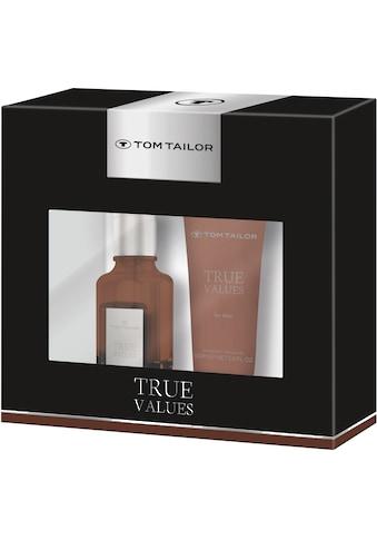 TOM TAILOR Duft-Set »True values for him«, (2 tlg.) kaufen
