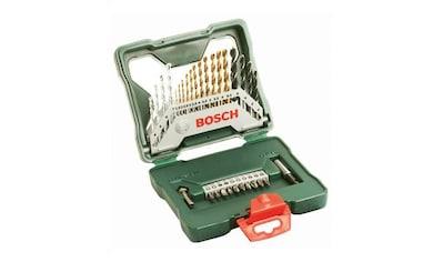 BOSCH Bohrer -  und Bit - Set »X - Line Titanium«, 30 - tlg. kaufen