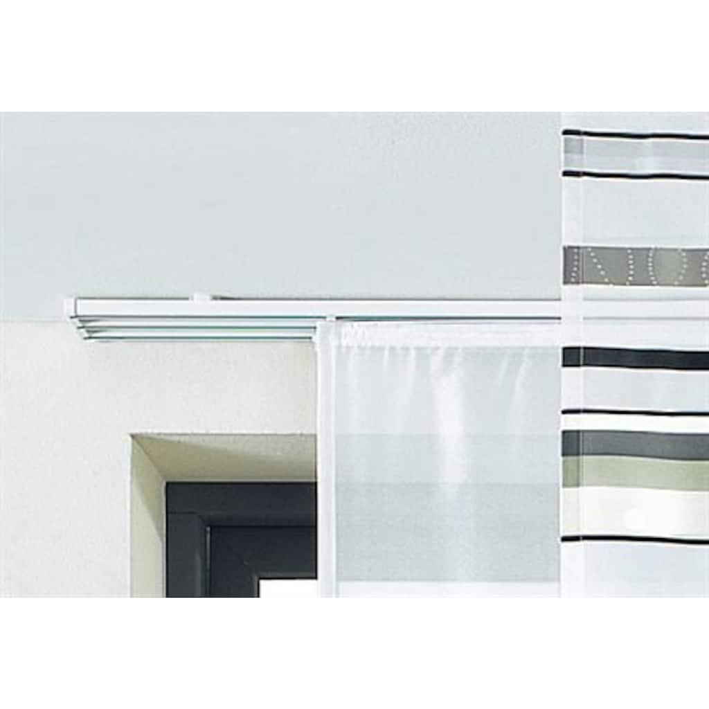 sunlines Schienensystem, 3 läufig-läufig, ausziehbar, Komplett-Set