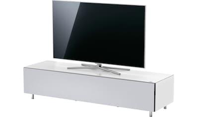 SPECTRAL Lowboard »Just Racks«, JRL 1654T, Breite 165 cm, wahlweise mit Basis- oder TV-Paket, mit Akustikspannstoff kaufen
