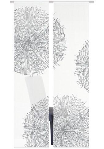 Vision S Schiebegardine »2ER SET CRESTON«, HxB: 260x60, Schiebevorhang 2er Set Digitaldruck kaufen