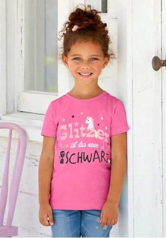 Arizona T - Shirt »Glitzer ist das neue Schwarz« kaufen