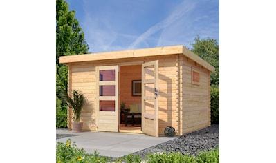 WOODFEELING Gartenhaus »Trittau 4«, BxT: 377x333 cm kaufen
