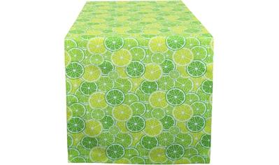 HOSSNER - HOMECOLLECTION Tischläufer »32643 Limun«, (1 St.) kaufen