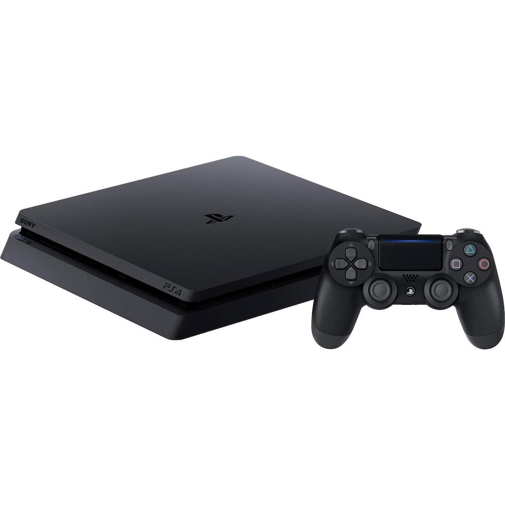PlayStation 4 Konsole »Slim«, 500GB, inkl. Ghost of Tsushima