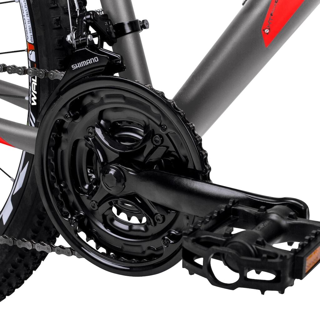 bergsteiger Mountainbike »Detroit«, 21 Gang Shimano Tourney RD-TZ50 Schaltwerk, Kettenschaltung