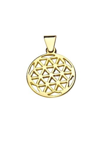 Vivance Kettenanhänger »333/- Gold Blume des Lebens«, Anhänger kaufen