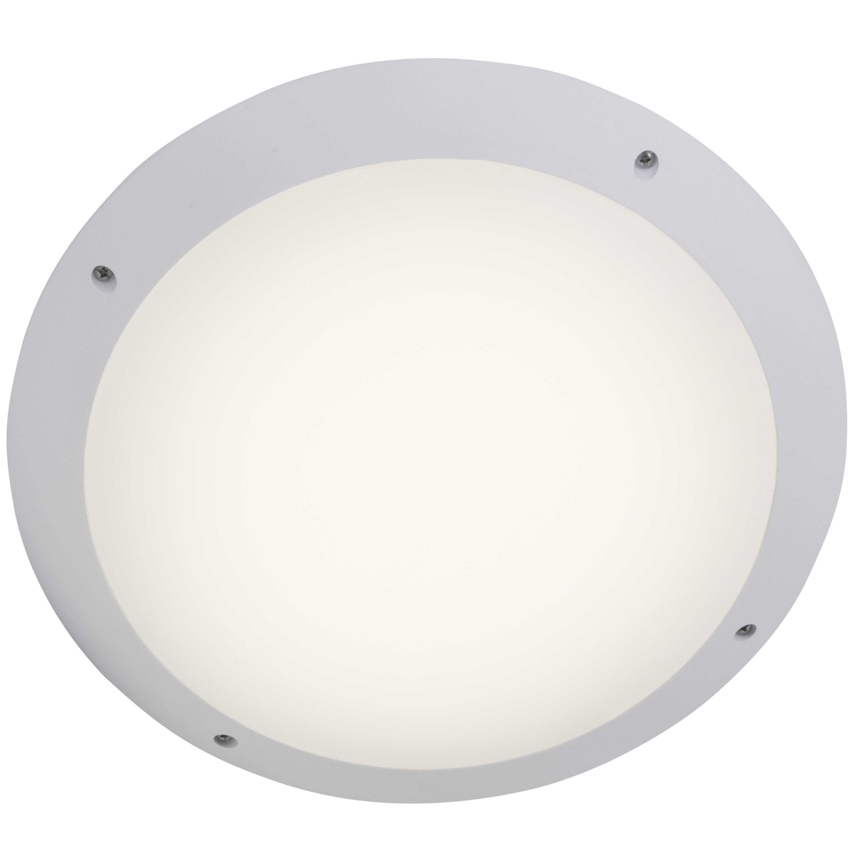 Brilliant Leuchten Medway LED Außendeckenleuchte 30cm weiß Fernbedienung