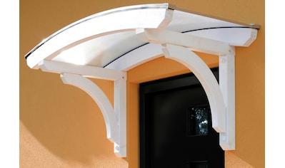 Skanholz Rundbogenvordach »Rostock«, BxT: 174x80 cm kaufen
