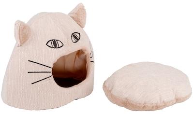 SILVIO DESIGN Hundehöhle und Katzenhöhle »Amira«, BxLxH: 45x45x35 cm kaufen