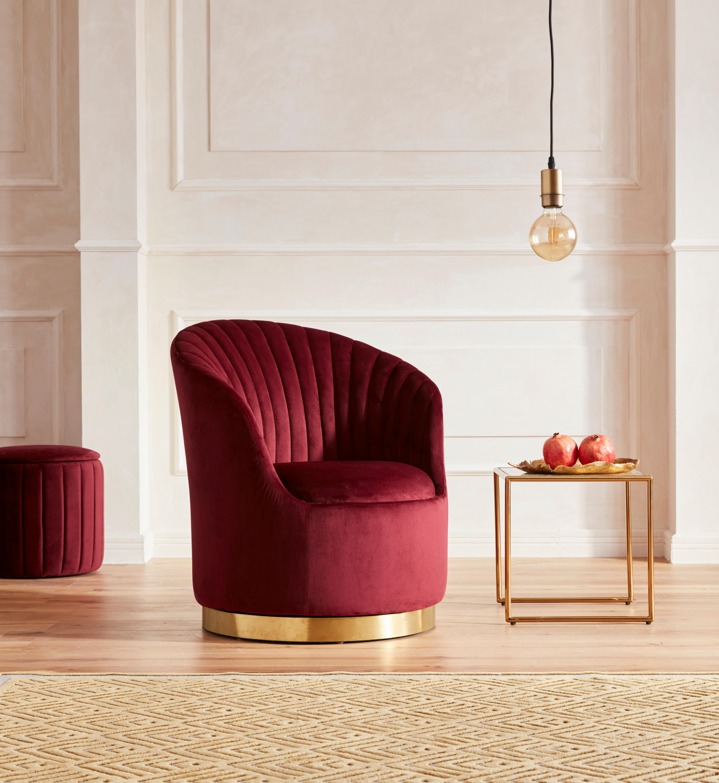 GMK Home & Living Sessel Warna mit Drehfunktion