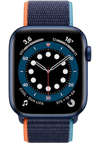 Apple Series 6, GPS + Cellular, OLED, Touchscreen, 32 GB, 44mm Watch (Watch OS 6) kaufen