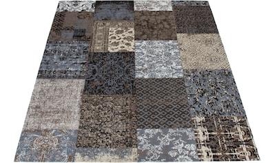 Teppich, »Ella«, DELAVITA, rechteckig, Höhe 10 mm, handgewebt kaufen
