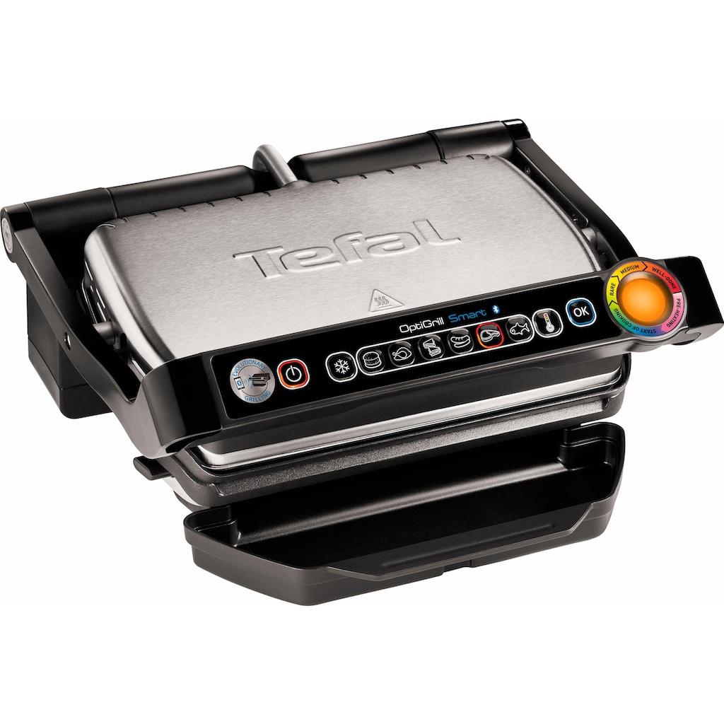Tefal Kontaktgrill »GC730D Optigrill«, 2000 W, Bluetooth