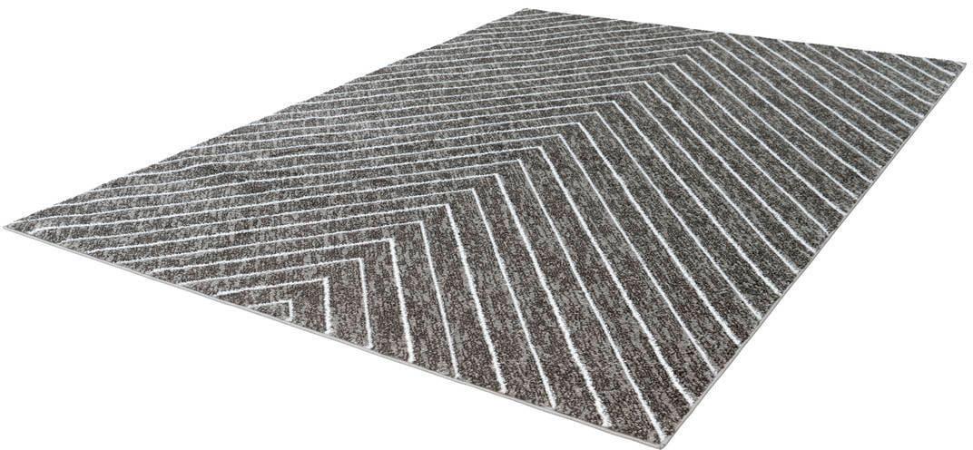 Teppich Swing 102 LALEE rechteckig Höhe 14 mm maschinell gewebt