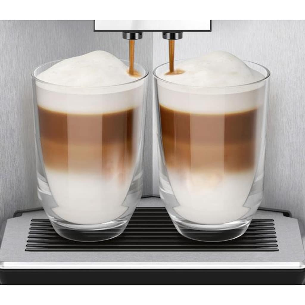 SIEMENS Kaffeevollautomat »EQ.9 s400 TI924501DE«, individualCoffee System: Persönliches Getränke-Menü für bis zu 6 Profile.