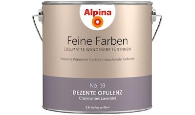 ALPINA Wand -  und Deckenfarbe »Feine Farben  -  Dezente Opulenz«, 2,5 l kaufen
