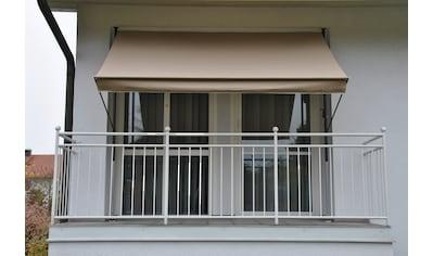 Angerer Freizeitmöbel Klemmmarkise, taupe, Ausfall: 150 cm, versch. Breiten kaufen