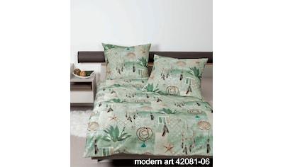 Janine Wendebettwäsche »modern art 42081«, mit Reißverschluss kaufen