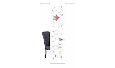 HOME WOHNIDEEN Schiebegardine »STARS«, HxB: 245x60, inkl. Befestigungszubehör kaufen
