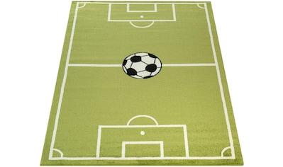 Paco Home Kinderteppich »ECE Fussball 953«, rechteckig, 14 mm Höhe, Kurzflor, Fußball Spielteppich kaufen