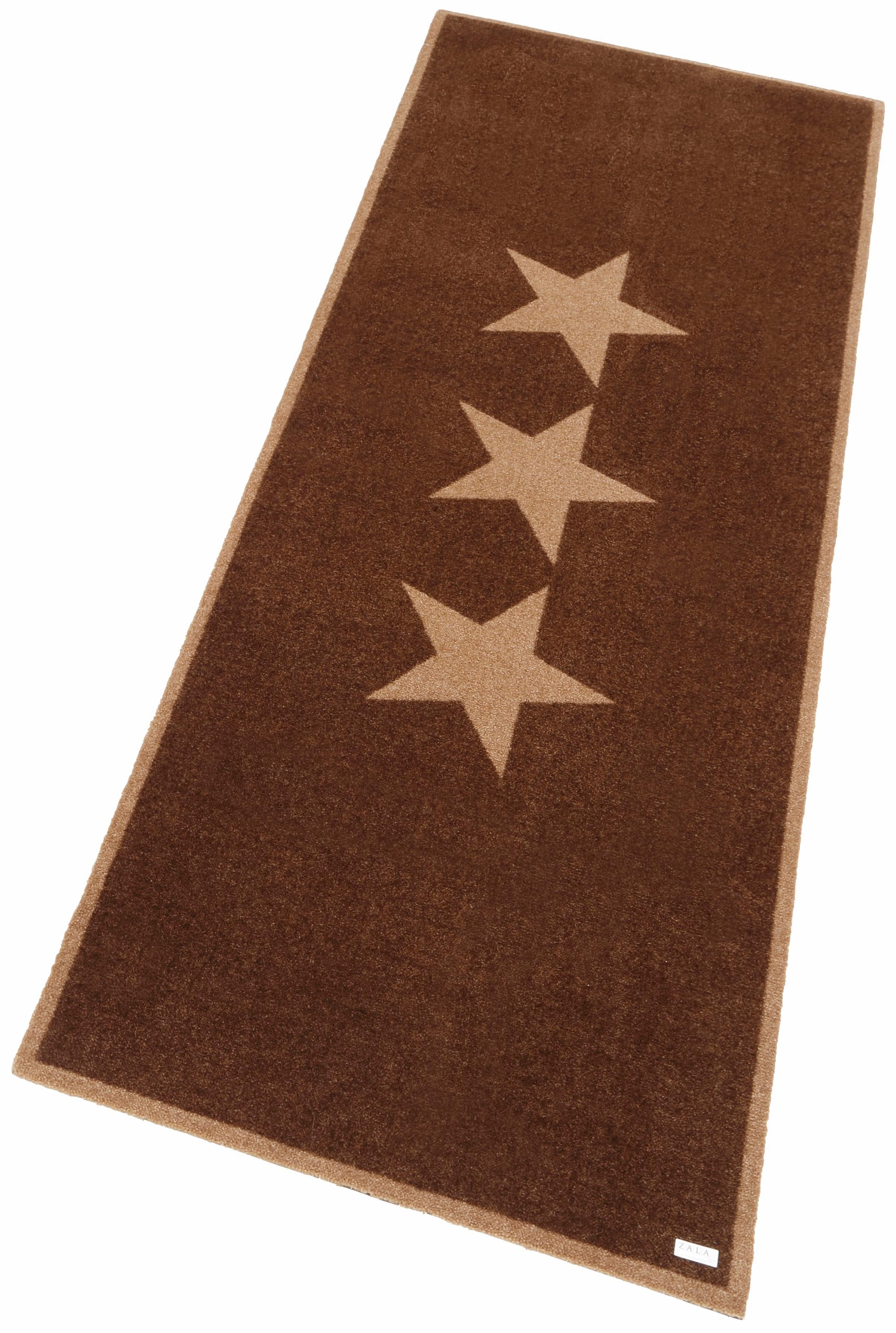 Läufer Sterne Zala Living rechteckig Höhe 7 mm maschinell getuftet