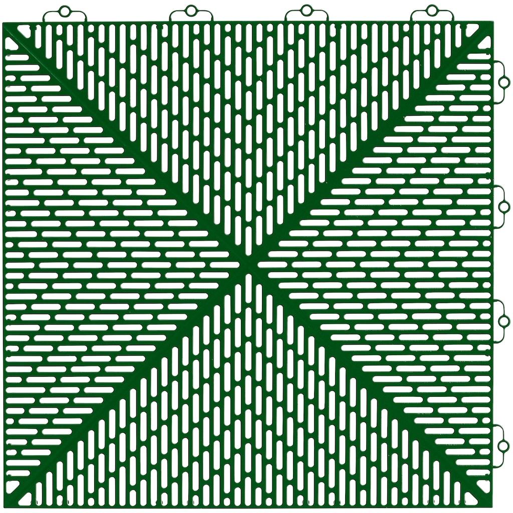 Bergo Flooring Klickfliesen-Kantenleiste, für Kunststofffliesen in Springgrass