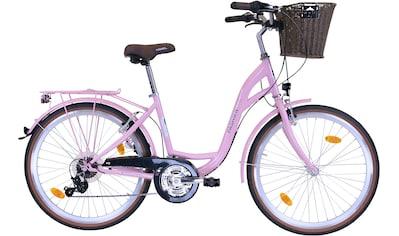 FASHION LINE Cityrad, Shimano, TOURNEY TY 300 Schaltwerk, Kettenschaltung kaufen