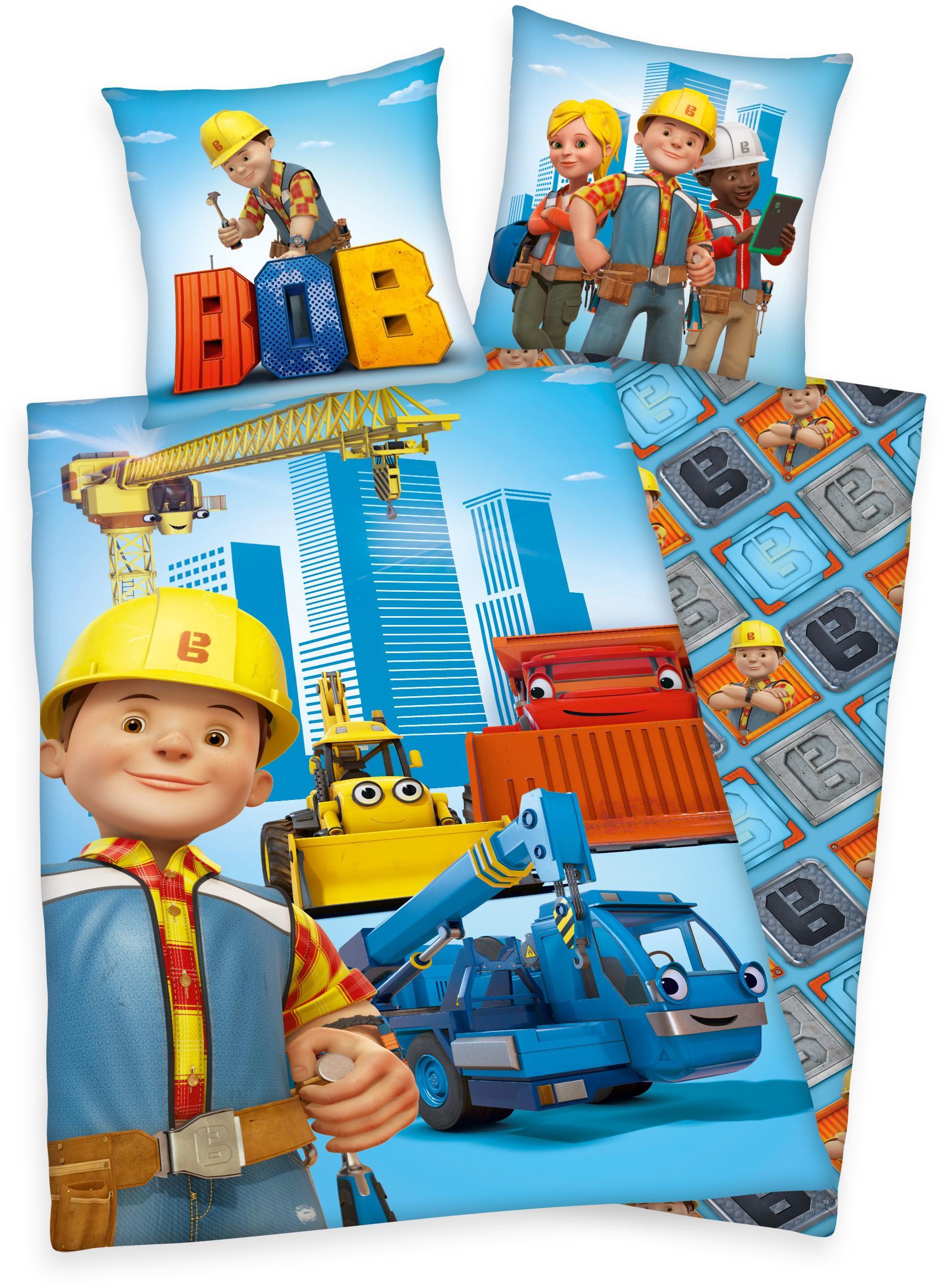 Kinderbettwäsche Bob Bob der Baumeister