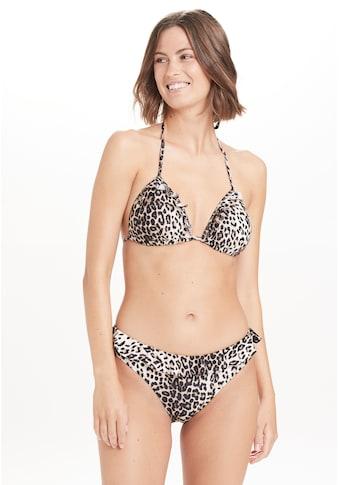 ATHLECIA Fleecejacke »Mesia W«, mit femininem Rüschen-Look kaufen