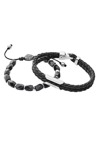 Diesel Armband Set »DX1254040«, (Set, 2 tlg.), mit Achat kaufen