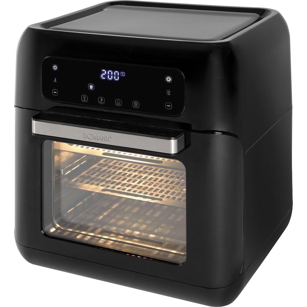 BOMANN Heissluftfritteuse »FR 6031 H CB«, Stufenlos regelbarer Thermostat